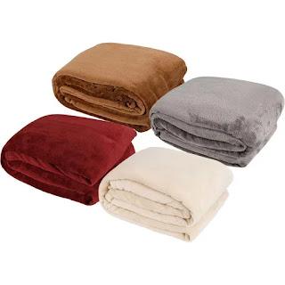 Manta Cobertor Casal Comfy Liso Vinho - Basic+