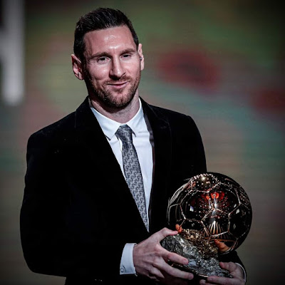 #Lional #Messi Won the #6th #Ballon #d'Or #award...Congrats to all #Leo #Messi #Fans...