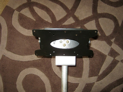 TV bracket and post stirrup