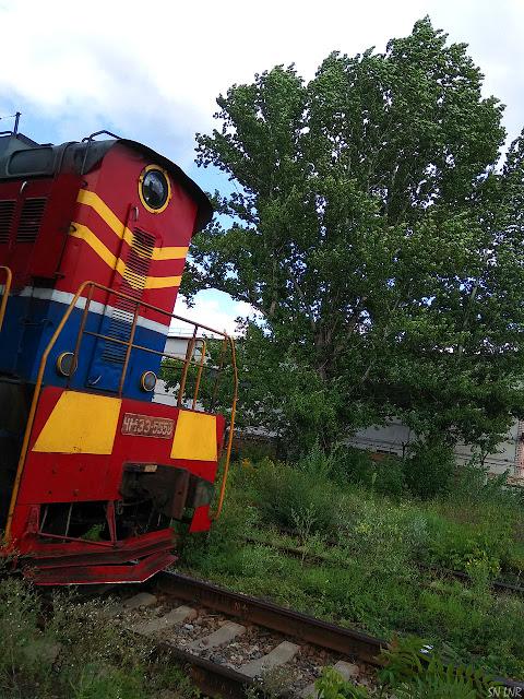 Поезд, Луганск