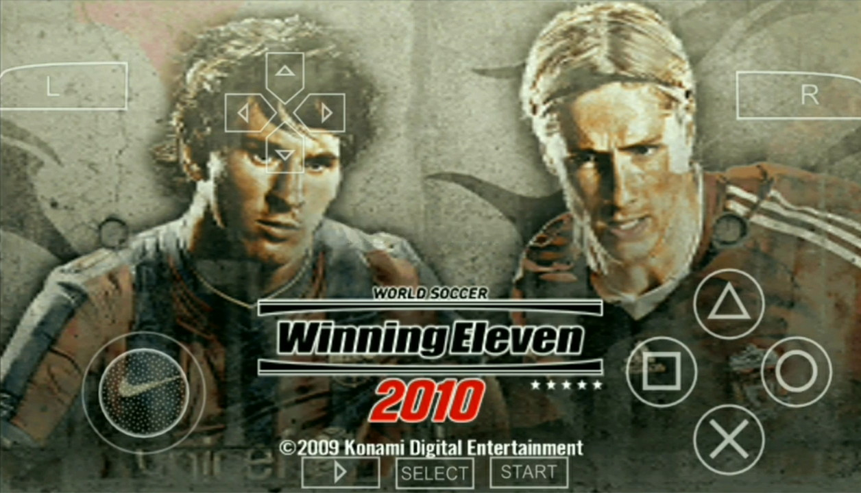 WINNING ELEVEN 2010 ISO PPSSPP FOR ANDROID