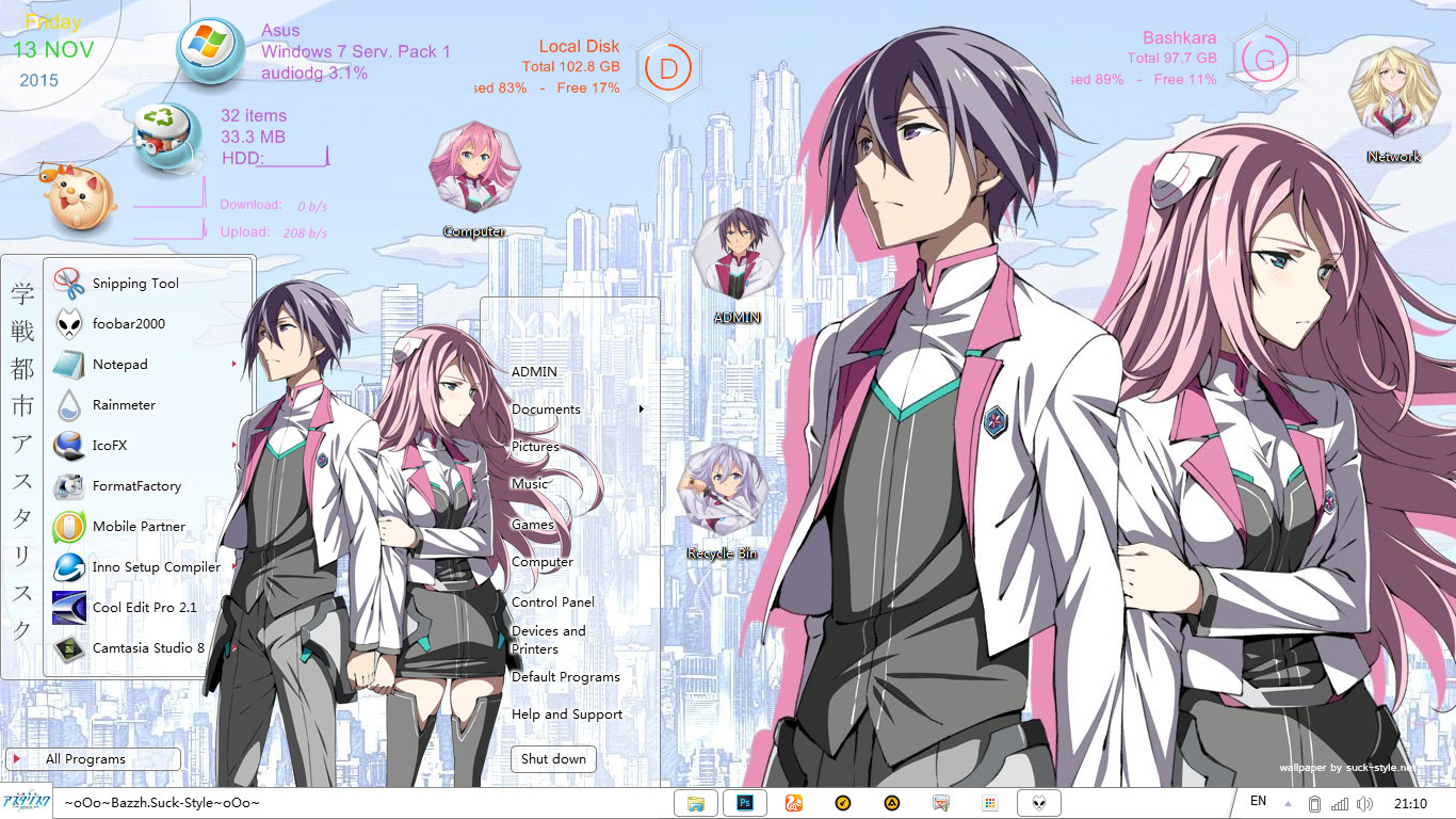 Gakusen Toshi Asterisk Academy Battle City Asterisk Win -5288