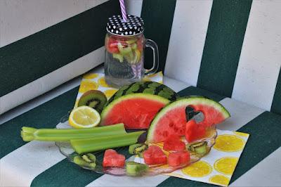 Cara Membuat Infused water semangka