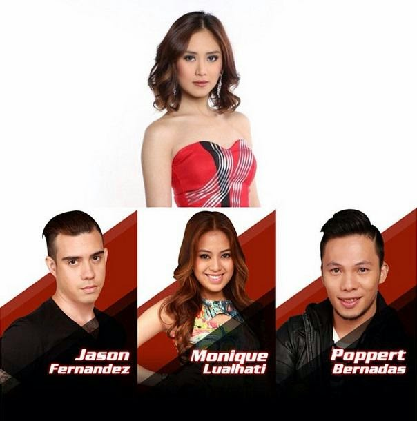 TEAM SARAH: Jason Fernandez vs Monique Lualhati vs Poppert Bernadas
