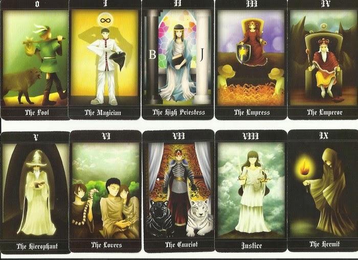 Priskha's Tarot Notes: Review of Hermes Fortune Tarot Deck