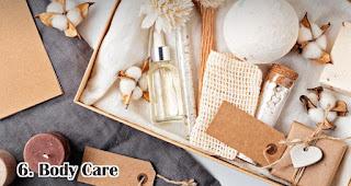 Body Care merupakan rekomendasi isian hampers lebaran yang menarik dan bermanfaat