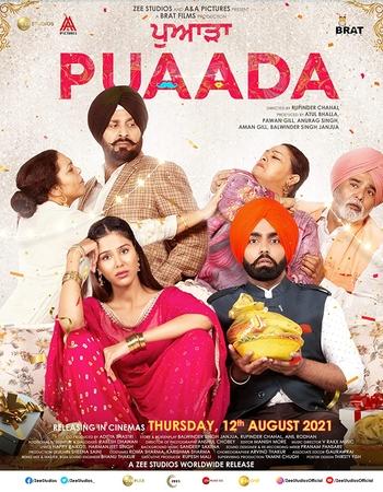 Puaada (2021) HDRip ZEE5 Punjabi Movie Subtitles Download - KatmovieHD