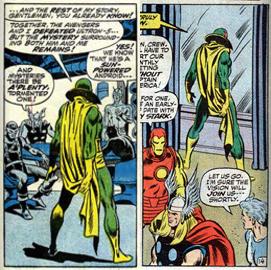 Avengers 102 Vision