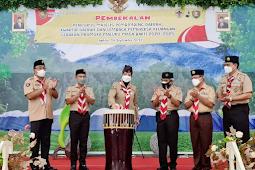 Widya Pratiwi Murad Buka Acara Pembekalan Pengurus Gerakan Pramuka Maluku