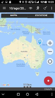 mappa Australia Airlie Beach