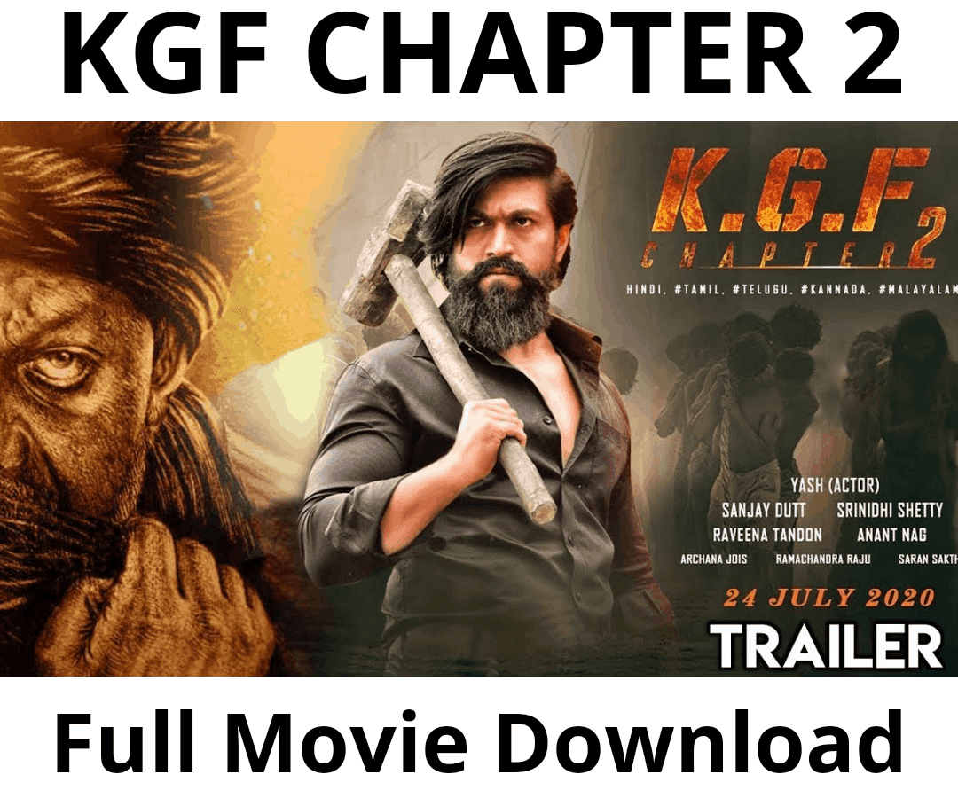 KGF Chapter 2 full movie download in hindi filmywap