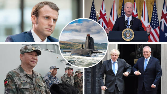 Buntut Pakta AUKUS dan Kisruh Kapal Selam: Prancis Tarik Pulang Duta Besarnya di AS dan Australia