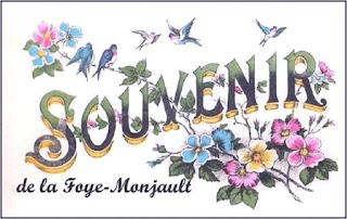 Dessins et souvenirs : Bonjour de la Foye