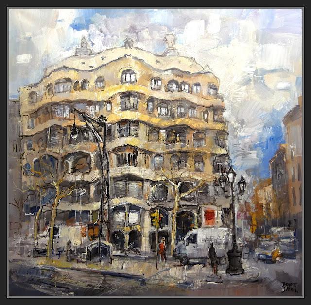 BARCELONA-PINTURA-ART-LA PEDRERA-CASA MILÁ-MODERNISME-PASSEIG DE GRACIA-PINTOR-ERNEST DESCALS