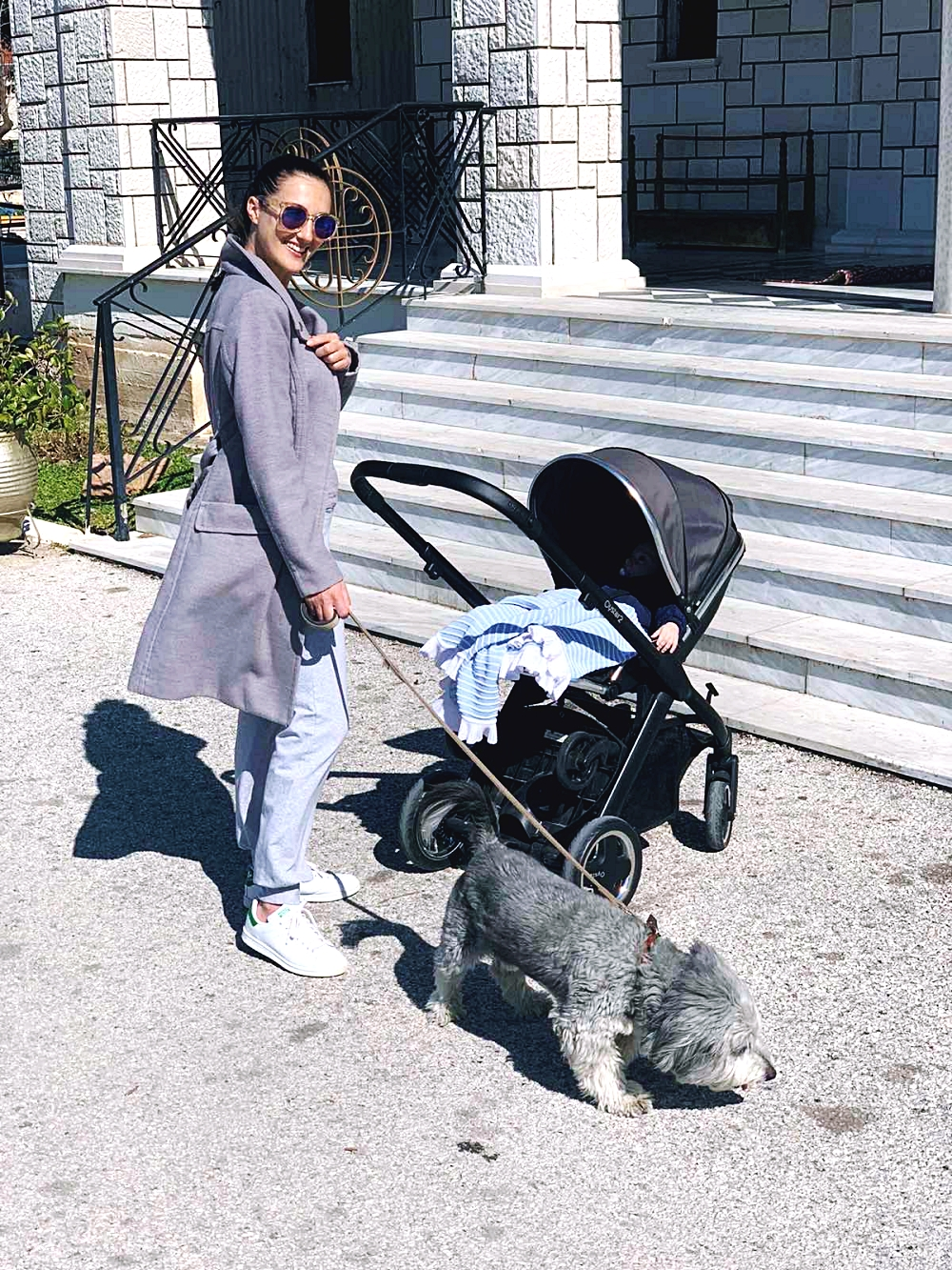 best activities with a newborn, Oyster 2 BabyStyle pram stroller