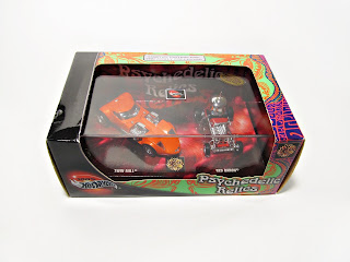 Hot Wheels 100% Psychedelic Relics Twin Mill Red Baron set