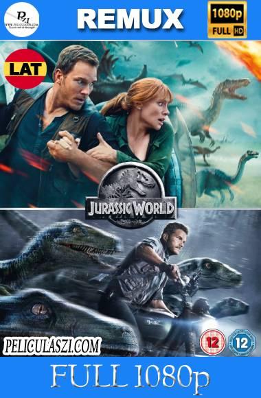 Jurassic World: 1&2 (2015-2018) Full HD REMUX 1080p Dual-Latino