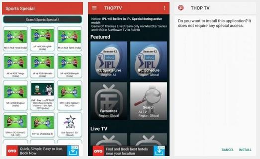 تنزيل تطبيق ThopTV لمشاهدة القنوات المشفرة والافلام مجانا