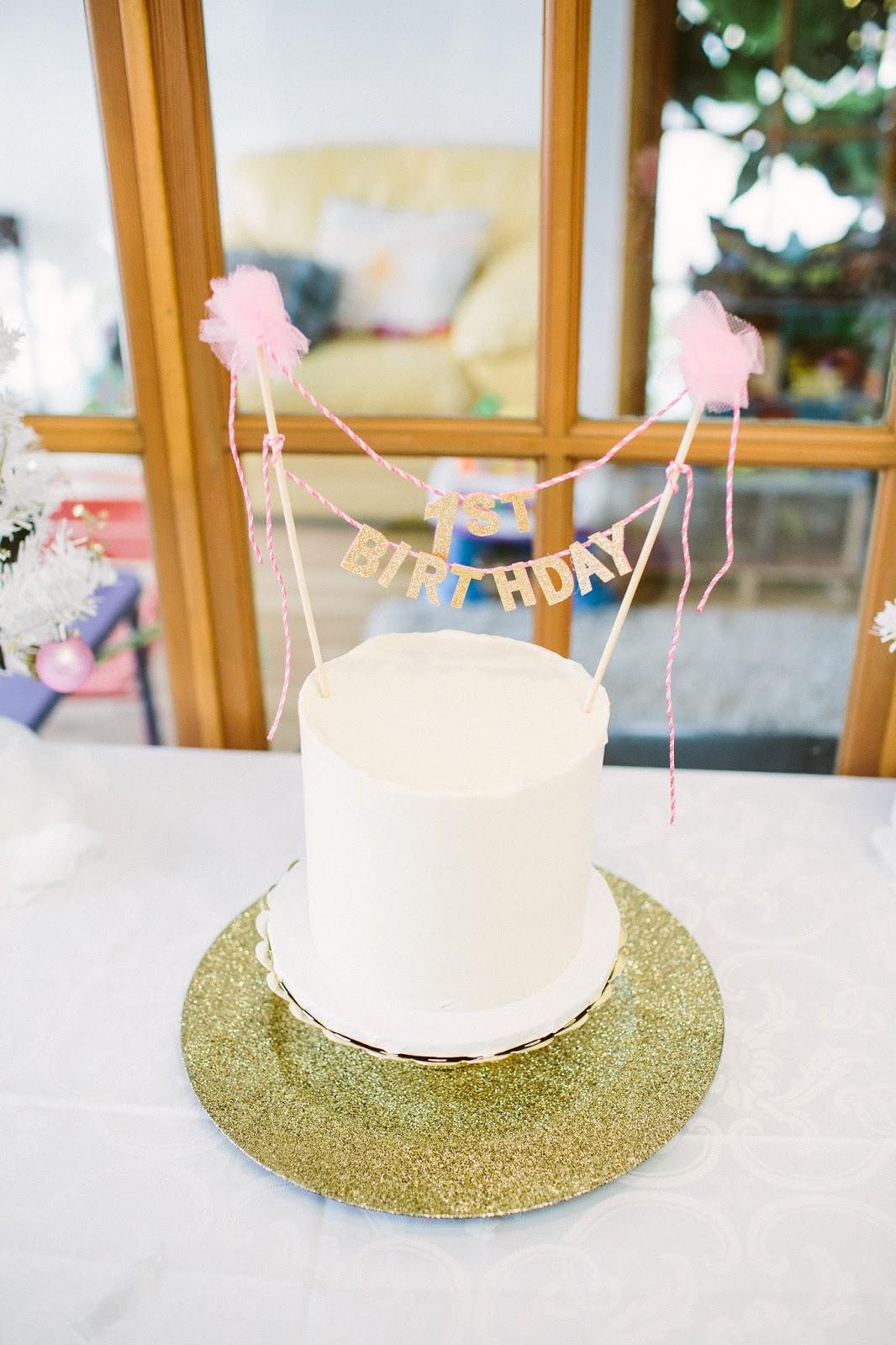 Pippa Cakery, First Birthday Cake, Smash Cake