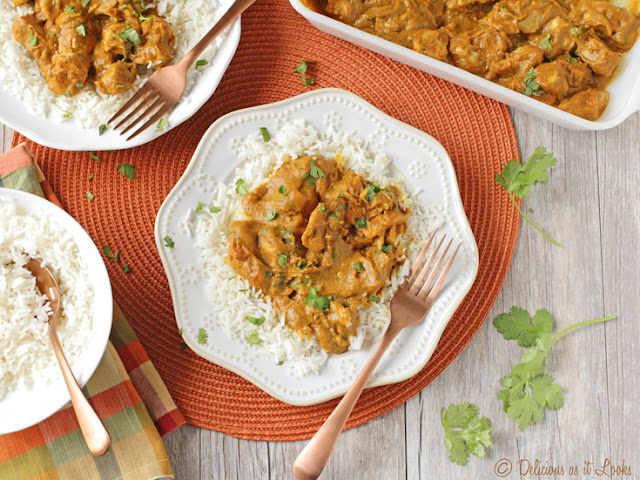 Low-FODMAP Chicken Pumpkin Curry  /  Delicious as it Looks