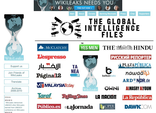 #WikiLeaks publishes millions of Hacked Stratfor E-mails #gifiles