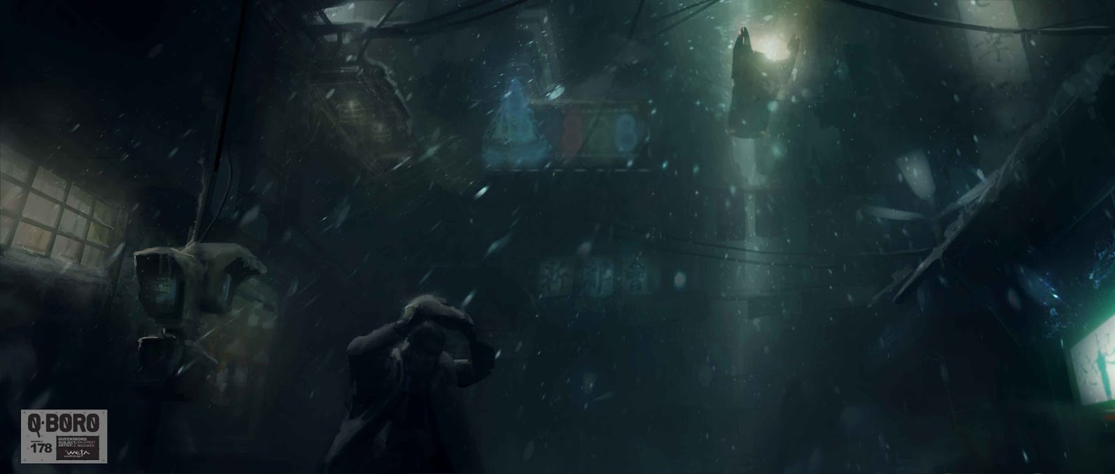 Dark City The Movie Concept Art