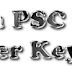 Sub Inspector of Police, Excise Inspector Exam Answer Key 12-09-2015