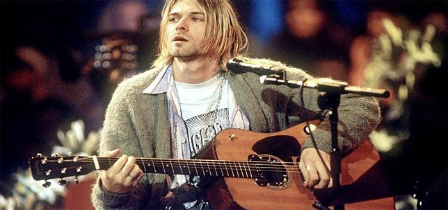 Guitarra Gibson D-18E Kurt Cobain MTV Unplugged