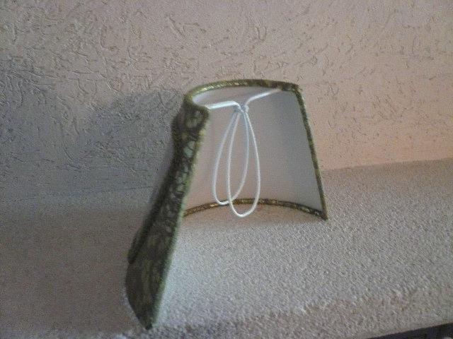 abat jour plisse pince lustre