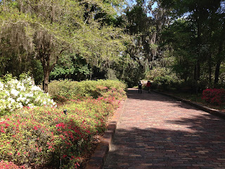 garden brick walkway florida