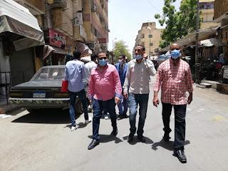 بتوجيهات العميد..طارق لطفي رئيس مركز ومدينة اسوان.  قامت حملة للتفتيش على المحلات باسوان