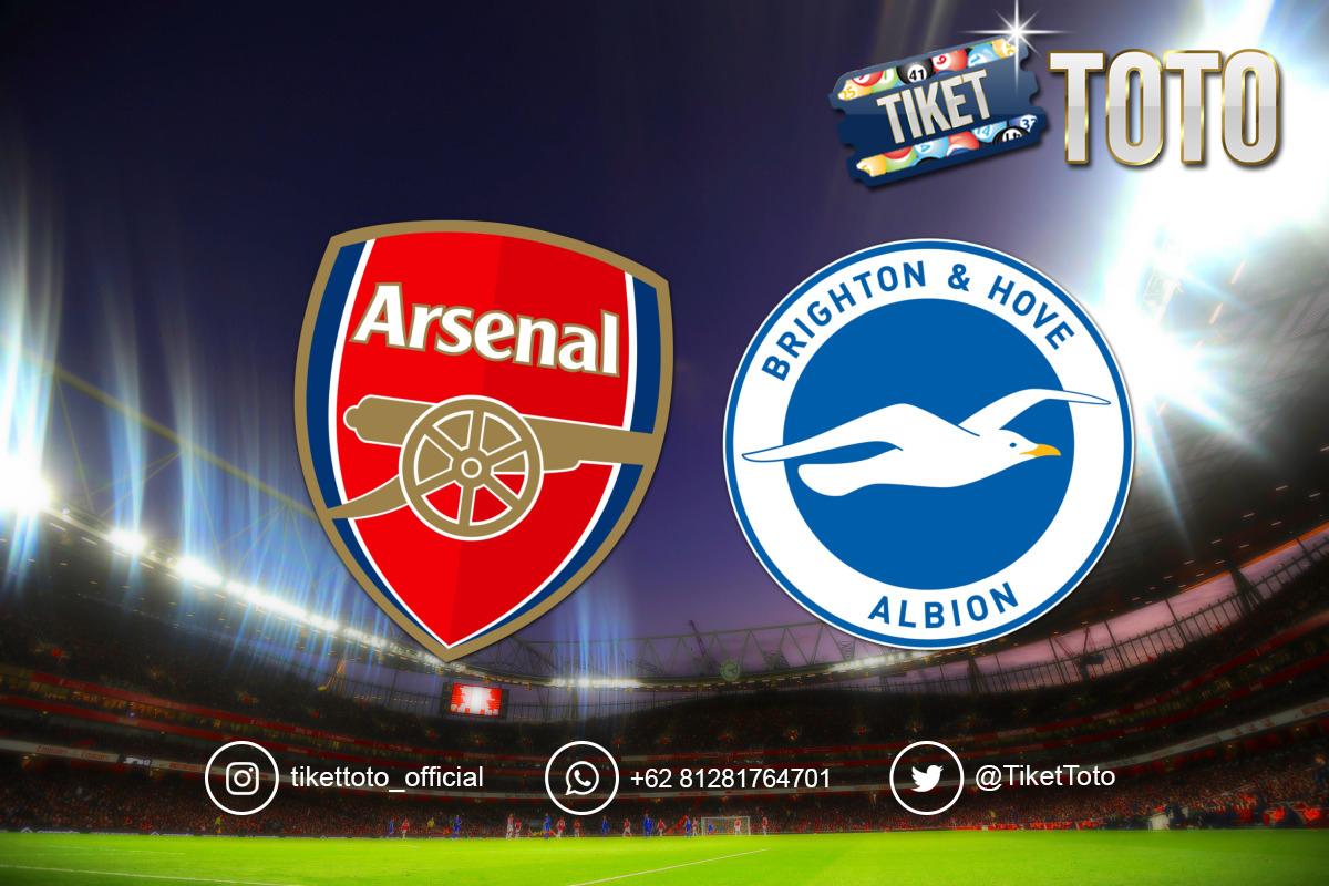 Arsenal Gagal Bawa Pulang Poin dari Kandang Brighton