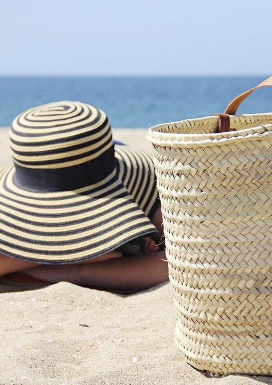 Il cappello di paglia al mare e in città 56f33b259191