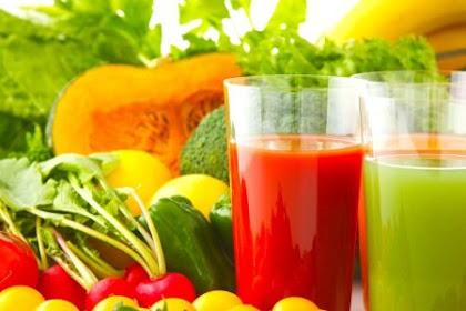 Jus Buah Dan Sayur, Nikmat Dan Penuh Manfaat !