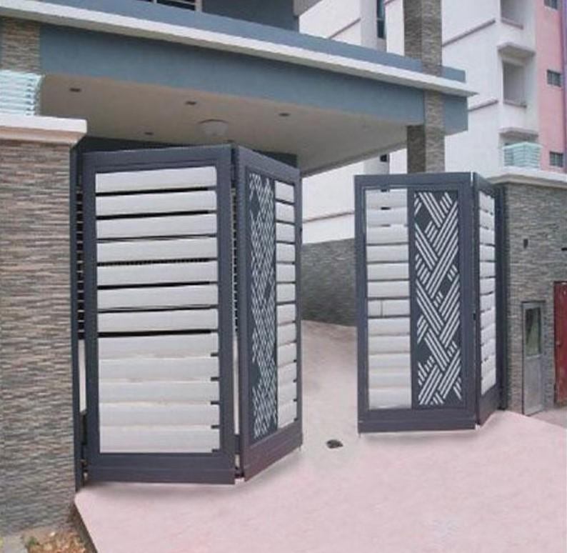 Contoh Pagar Lipat Rumah Minimalis - Home Desaign