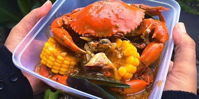 Kepiting Nyinyir Seafood Online Murah di Jakarta Bisa Pesan Lewat Gofood dan Grabfood