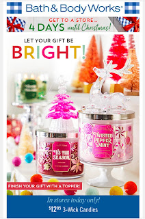 Bath & Body Works | Today's Email - December 21, 2019