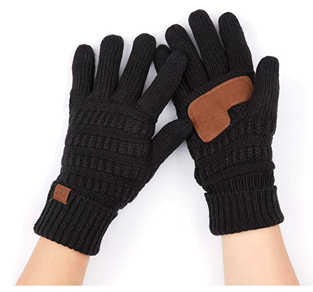 C.C. Fuzzy Gloves with Smart Tip