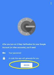باختصار شرح  two factor authentication  وطريقة الاشتغال