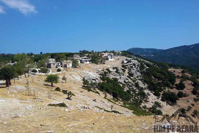 satul Kastro Thassos