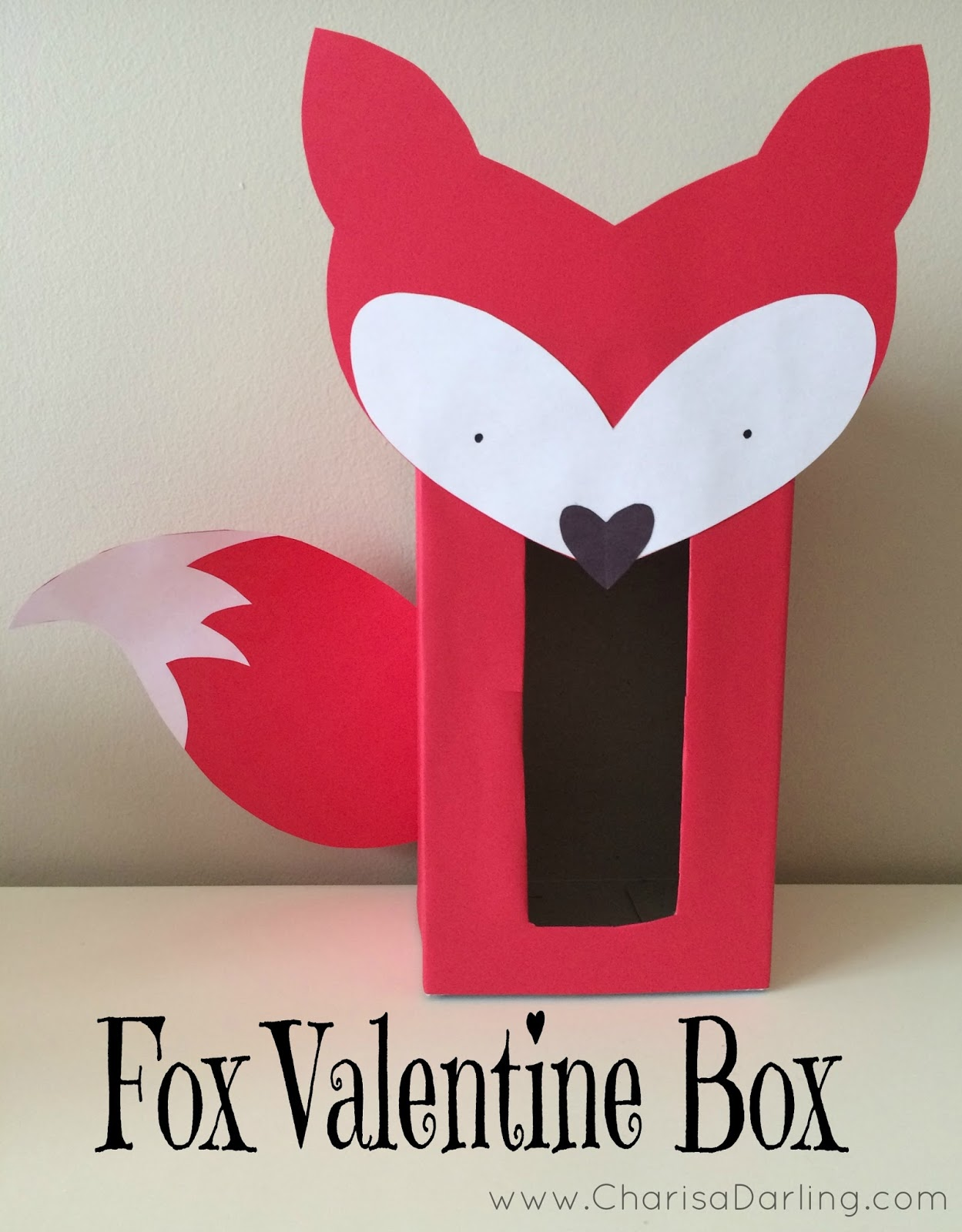 Fox Valentine Box Charisa Darling