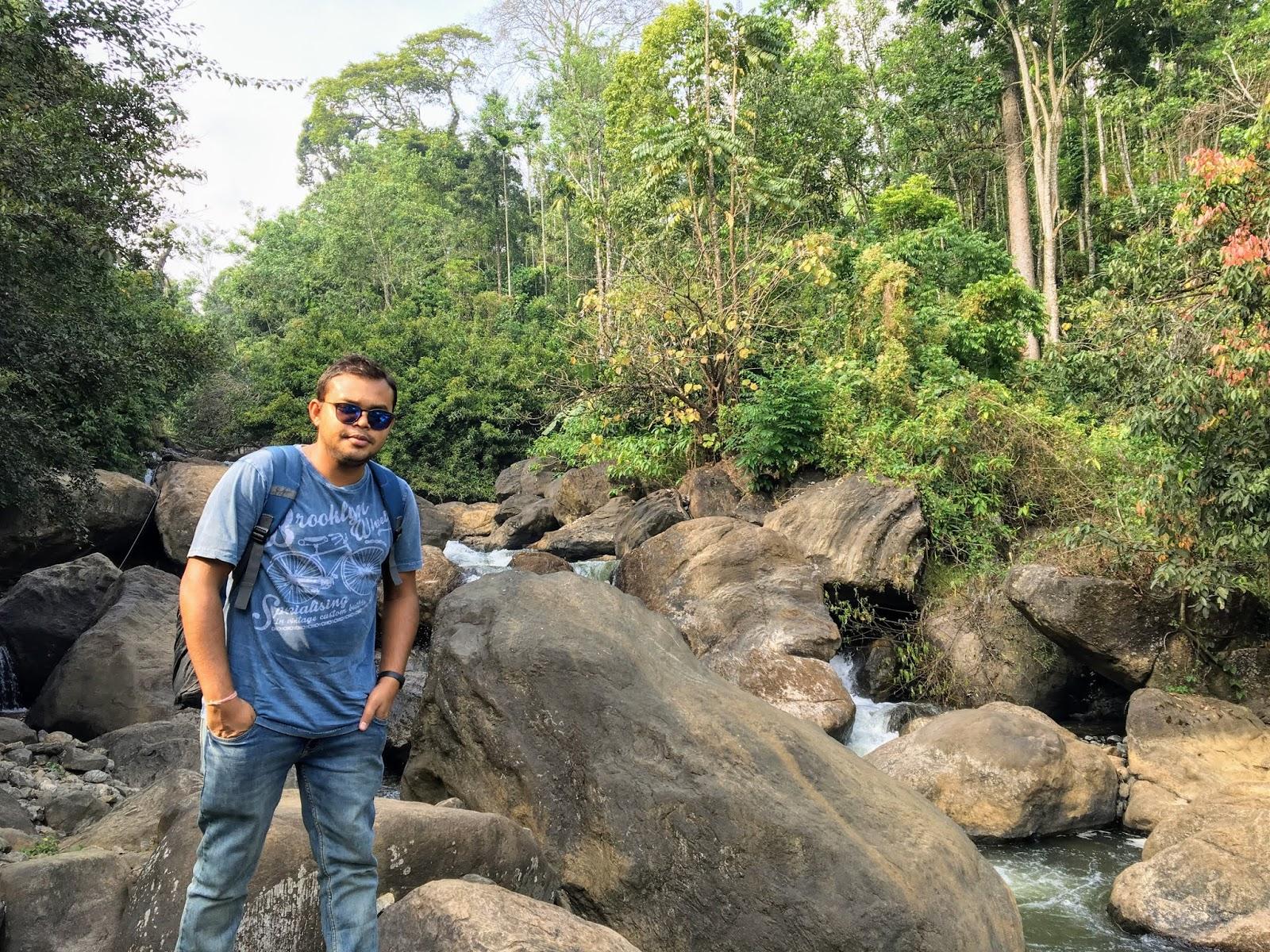Kambiline Falls, Munnar