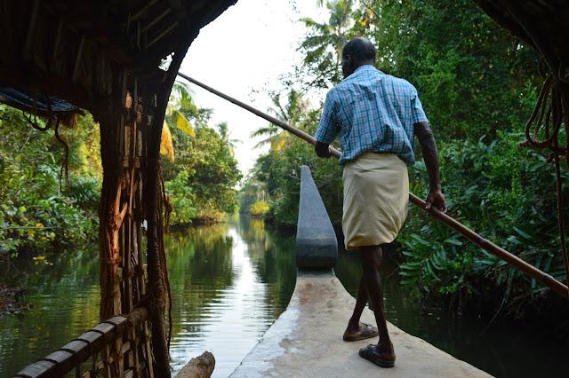 Balade dans les backwaters au Kerala