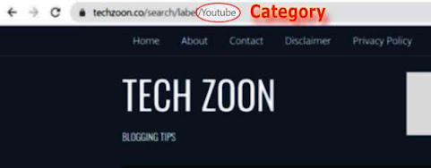 remove search/label from URL in blogger