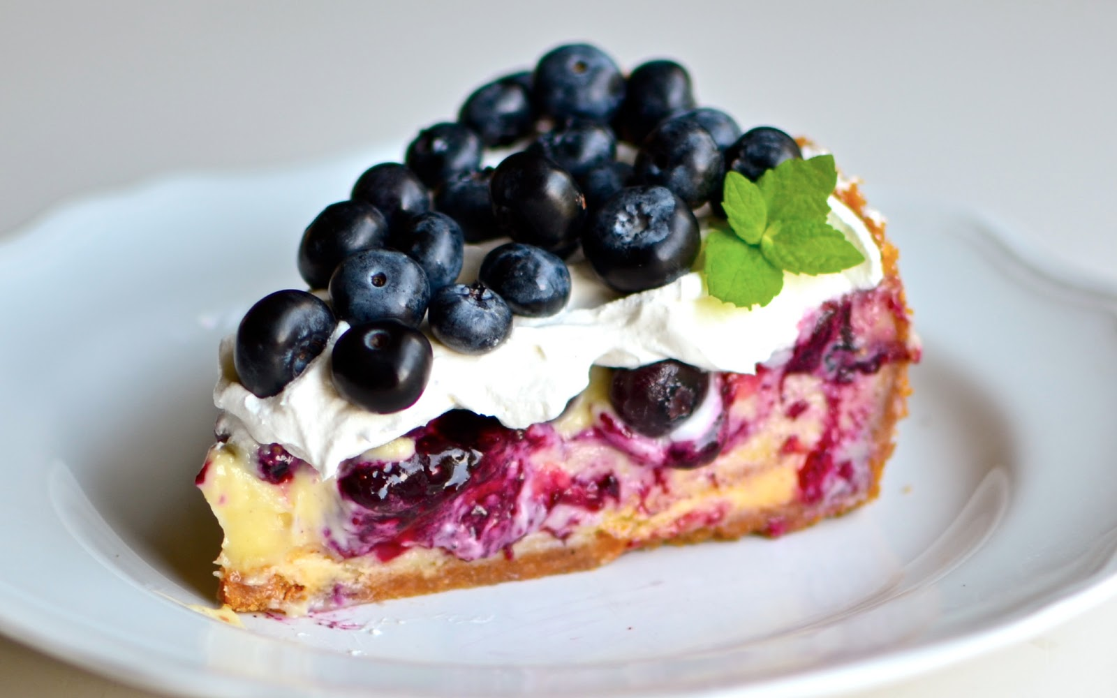 Blueberry Cake Images