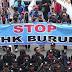 Peringati May Day, Ribuan Buruh KASBI Long March Kepung Istana Negara Besok