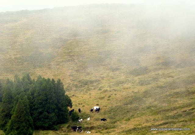 el clima cambiante en las Azores Portugal