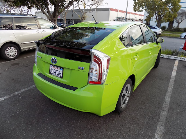 Toyota Prius before repainting at Almost Everything Auto Body