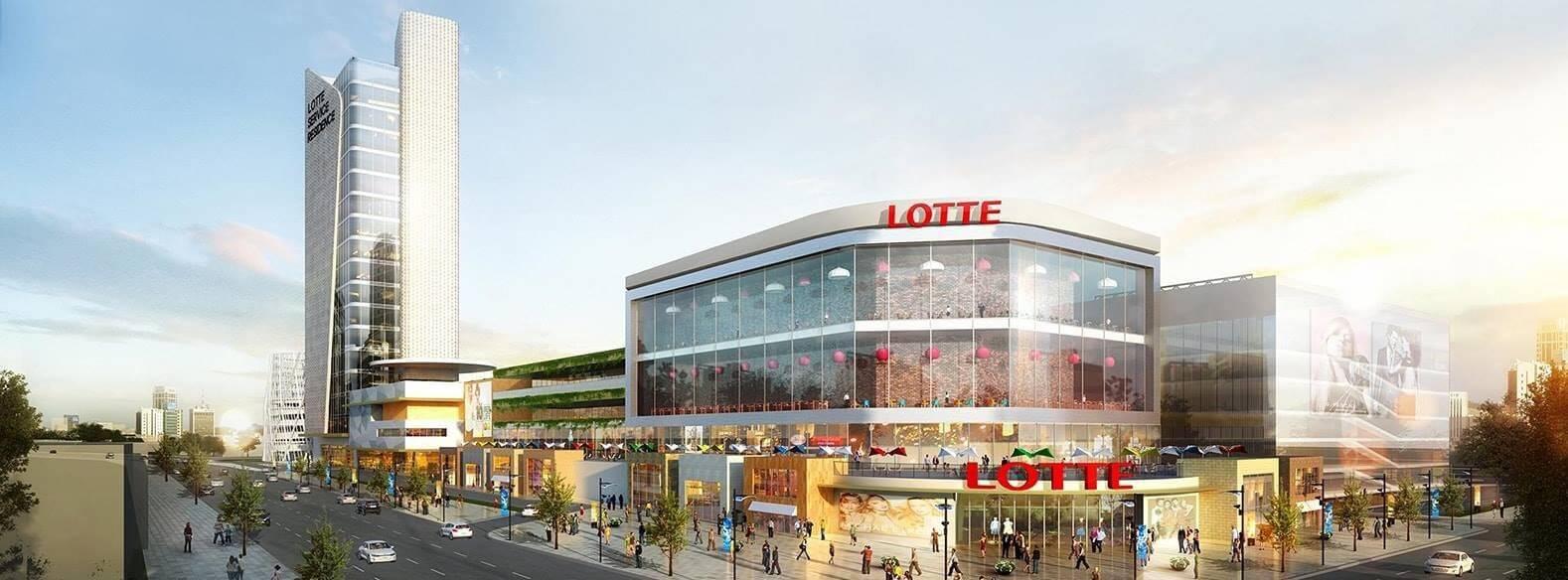 Phối cảnh Lotte Mall.