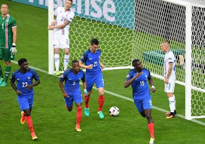 مباراة فرنسا وآيسلندا بدون تقطيع